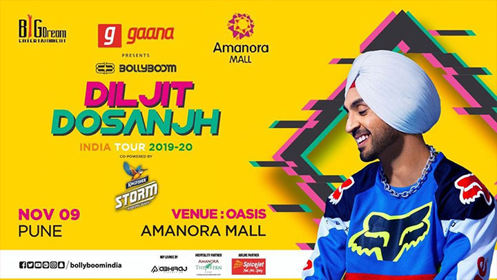 DILJIT DOSANJH INDIA TOUR 2019 – 20