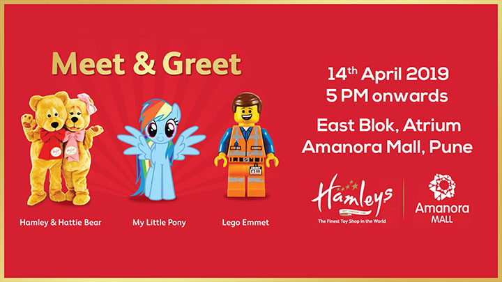 MEET & GREET AT AMANORA MALL