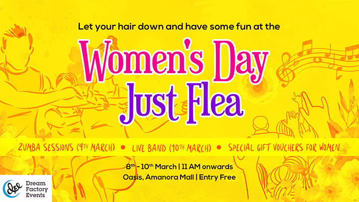 WOMEN'S DAY JUST FLEA