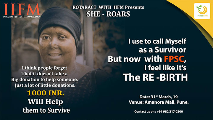 SHE-ROARS (ACID ATTACK VICTIMS)