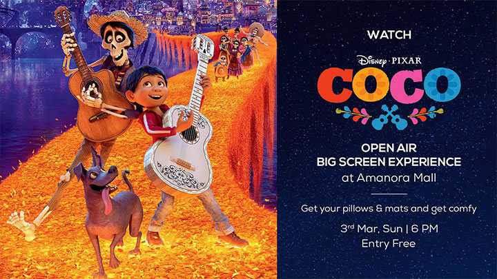 COCO – OPEN AIR BIG SCREEN EXPERIENCE