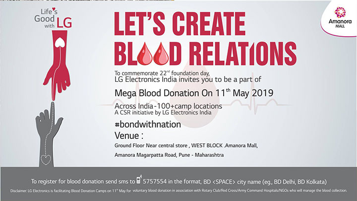 BOND WITH NATION – LET'S CREATE BLOOD RELATIONS