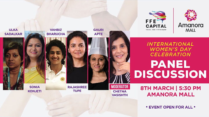 INTERNATIONAL WOMEN'S DAY 2020 PANEL DISCUSSION AT AMANORA MALL