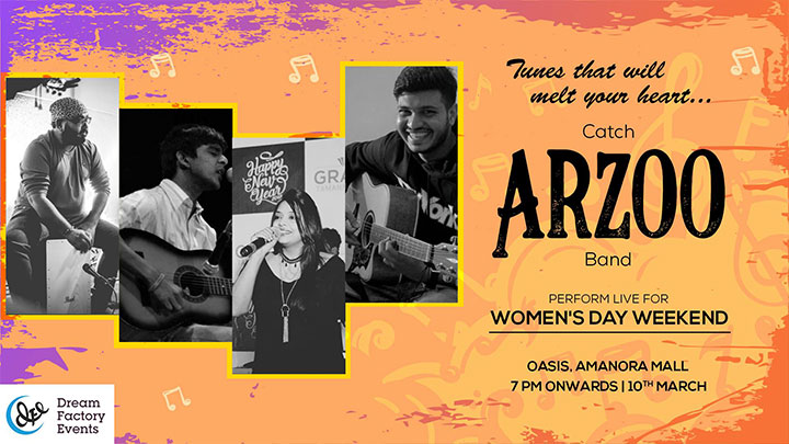 ARZOO BAND – LIVE AT AMANORA MALL