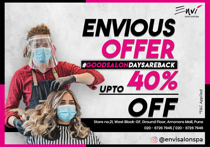 Envious Offer Up to 40% Off
