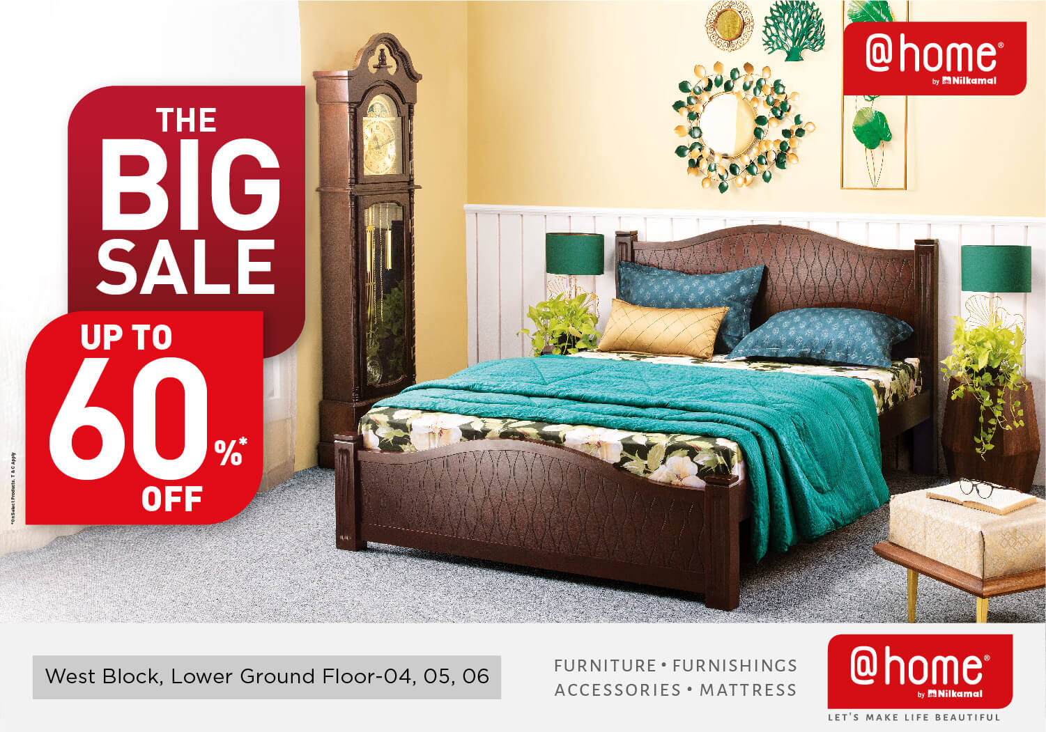 The Big Sale. Up to 60% Off