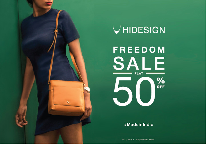 Freedom Sale Flat 50% Off